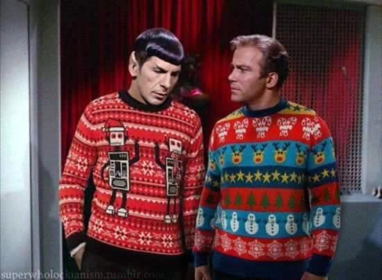 Star Trek sweaters