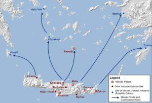 Crete Minoan Trade Routes