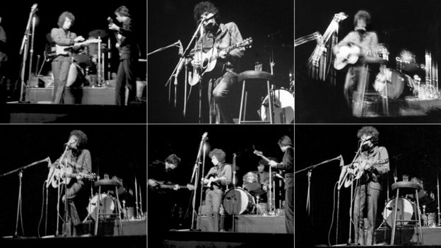 Dylan 1966 Visions of Johanna concert