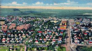 Hibbing Minnesota north of Duluth 1940s
