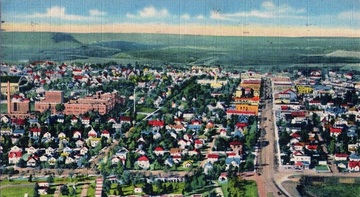 Hibbing Minnesota north of Duluth 1940s