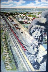Hibbing Minnesota train to Duluth 1940s Bob Dylan