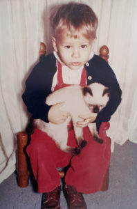small cats tsp 1 yr old w kitten