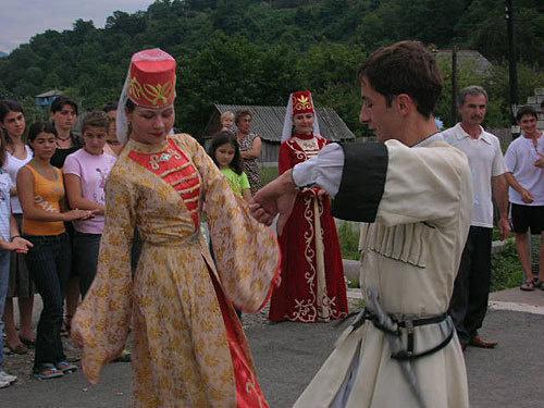 Adyge dancers