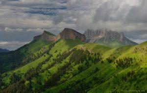 Adygea mountains