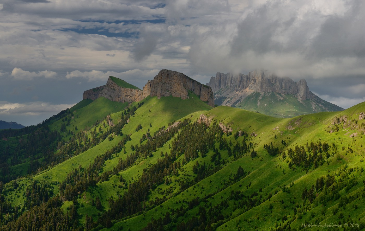 Adygea mountains in the Caucauses