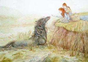 kelpie water horse spirit skerries