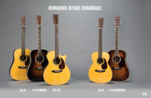 Maritn Guitars 2018 onemanz.com