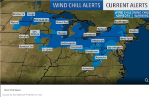 Polar vortex warn