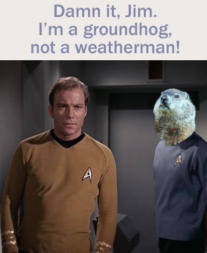 Groundhog Day Star Trek