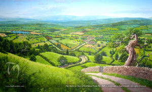 Winter Solstice Shire Calendar Hobbiton Nassmith