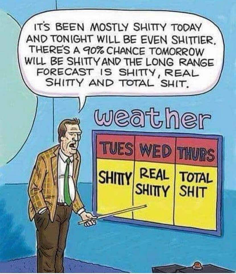 The weather humor onemanz