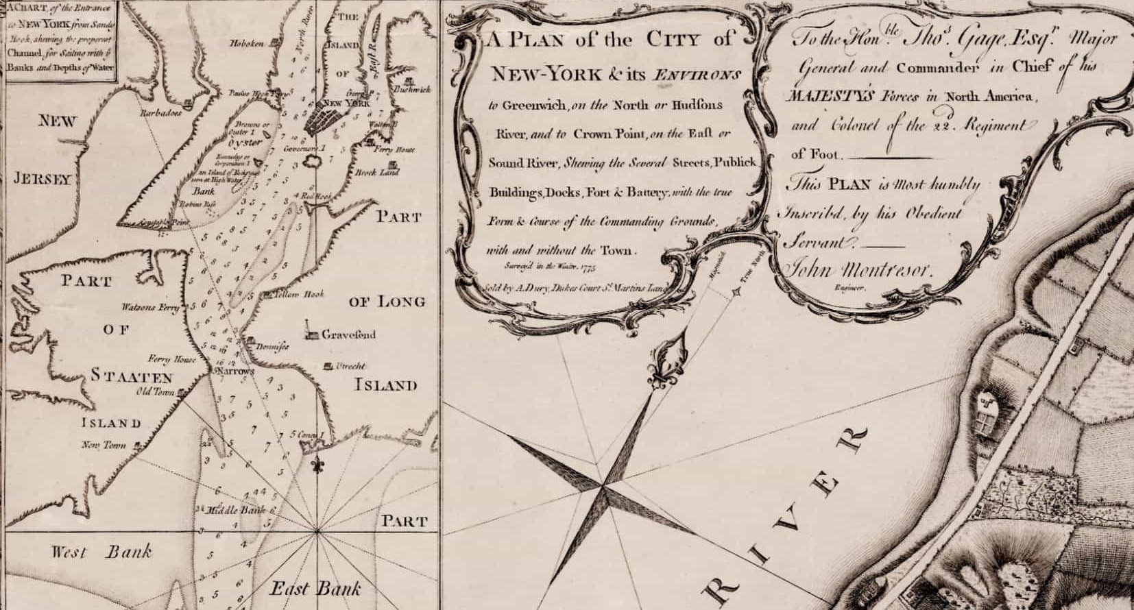 New York Map1776 George Washington onemanz detail 1