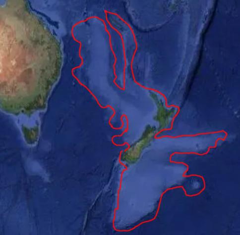 Zealandia Atlantis outline onemanz