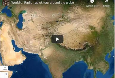 World of Radio radio.garden onemanz