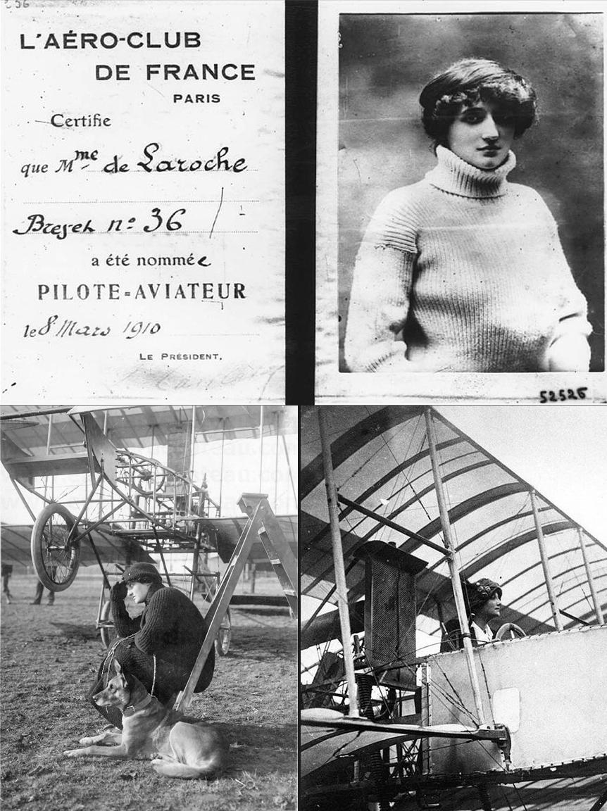 de-LAROCHE 1908 womens history onemanz